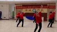 舞翩然舞蹈队《雪山姑娘》正背面演示及慢速口令教学
