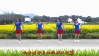 铜陵白云舞蹈《桃花运》演示;;白云姐妹正背面演示及口令分解动作教学和背面演