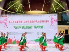 兰州蝶恋舞蹈队:藏族舞 《雪山姑娘》团队变队形版附正背表演口令分解动作分解教学
