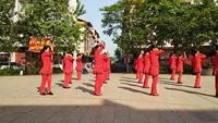 木易红舞蹈《桃花运》正背面口令分解动作教学演示