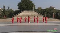 四川绵阳塔水自由组合舞队 祥云 表演 团队版 正背面演示及口令分解动作教学和背面演