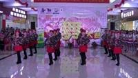 广西竹韵和谐健身队水兵舞《雪山姑娘》附正背面口令分解教学演示