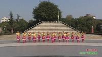 四川绵阳高新古泉舞蹈队广场舞  雪山姑娘 表演 团队版 完整版演示及口令分解动作教学