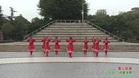 四川绵阳江油市太平镇江油古柏姐妹健身队 雪山姑娘 表演 团队版 完整版演示及分解教学演示