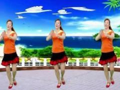 蝶舞芳香广场舞《美美哒》编舞:三亚美正反面演示及分解动作教学