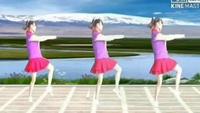 玲珑八方姐妹广场舞【雪山姑娘】编舞云紫燕老师正背面演示及口令分解动作教学