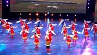 河南红蜻蜓广场舞《雪山姑娘》队形版经典正背面演示及口令分解动作教学