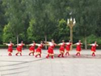 长春弘扬广场舞 雪山姑娘 表演 经典正背面演示及口令分解动作教学