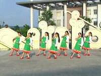 楚雄元谋宝剑广场舞 雪山姑娘 表演 完整版演示及口令分解动作教学