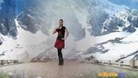 鲍丽广场舞水兵舞《雪山姑娘》口令分解动作教学