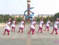 桂影广场舞 雪山姑娘 表演 原创附教学口令分解动作演示
