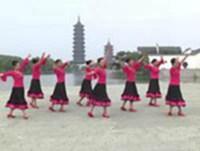 一号桥健康广场舞 雪山姑娘 表演 口令分解动作教学