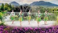 天吖广场舞《》雪山姑娘完整版演示及口令分解动作教学