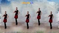 鲍丽广场舞水兵舞五人版《雪山姑娘》正反面演示及分解动作教学