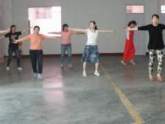 小西舞蹈《桃花运》原创附正背面教学口令分解动作演示
