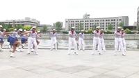 天津翔翎歌舞協會北寧公園舞蹈團 只愿一生陪著你 表演 團隊版 經典正背面演示及口令分解動作教學