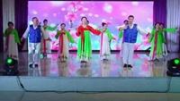 吉林歌之舞建團八周年慶典演出作品 朝族舞《動聽》正背面演示及口令分解動作教學和背面演