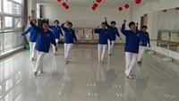 欣嘉園姐妹廣場舞《享受健康》,編舞:旭旭正背面演示及口令分解動作教學和背面演