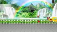 長安水仙花廣場舞星星動態背景《甜蜜愛情》十六正背面演示及口令分解動作教學和背面演