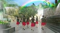 長安水仙花廣場舞《我的九寨》編舞:曹敏附正背面口令分解教學演示