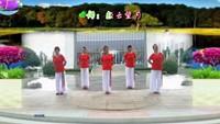 長安水仙花廣場舞《一首醉人的歌》團隊版經典正背面演示及口令分解動作教學