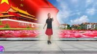 長安水仙花廣場舞《當兵的歷史》編舞:肖肖完整版演示及口令分解動作教學