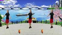 長安水仙花廣場舞《最真的夢》編舞:玲姐制作:星星完整版演示及口令分解動作教學