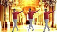 W22、碧海藍天退休學跳第一支廣場舞《啞巴新娘》口令分解動作教學演示