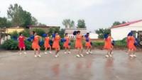 四座楼村舞蹈《桃花运恰恰》附正背表演口令分解动作分解教学
