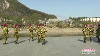 贵州铜仁双月社区老年健身队  我们的钓鱼岛 表演 团队版 正背面演示及口令分解动作教学