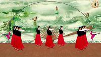 特效舞蹈《人生路》队形变化版,制作:永不疲倦 原创附教学口令分解动作演示