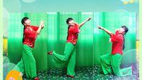 沅陵莺歌舞蹈《映山红》创意(个人版) 正反面演示及分解动作教学