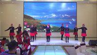 德阳东美舞蹈队《桃花运》参加罗江老体协联谊会 完整版演示及口令分解动作教学