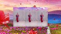 旱码头凤鸣春雨舞蹈【映山红】编舞-芙蓉美伊 完整版演示及分解教学演示