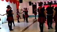 水兵舞第六套舞蹈 北江美 表演 正背面演示及口令分解动作教学