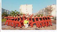 平平舞蹈《映山红》附正背面口令分解教学演示