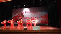 淮南潘集彩虹舞隊廣場舞 張燈結彩 表演 正背面演示及慢速口令教學