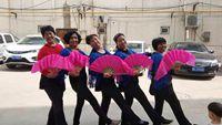 星光舞蹈2队《北江美》 原创附正背面教学口令分解动作演示