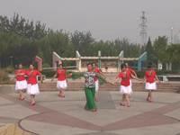 圣德舞蹈 北江美 表演 正背面口令分解动作教学演示