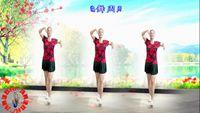 建群村舞蹈《映山红》编舞周周2018年最新舞蹈 附正背表演口令分解动作分解教学