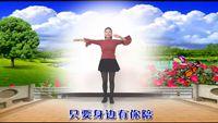 获嘉艳霞舞蹈-简单好看《老妹你真美》 正背面演示及口令分解动作教学和背面演