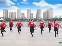 南陵三里輕舞飛揚廣場舞 張燈結彩 表演 附正背表演口令分解動作分解教學