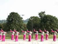 临安吴越舞韵舞蹈 映山红 表演 原创附教学口令分解动作演示