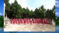 云南省宣威市梦之蓝笨小孩舞蹈队演示【北江美】 正背面演示及慢速口令教学