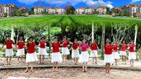 桂华舞蹈《映山红》 经典正背面演示及口令分解动作教学