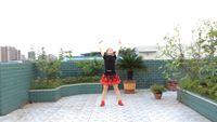 四川富顺时尚舞蹈,拉伸操《映山红》编舞,美久导师 完整版演示及分解教学演示