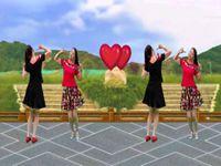 上津叶子舞蹈《老妹你真美》原创【双人对跳版】附分 附正背表演口令分解动作分解教学