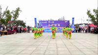 呂譚葛崗舞蹈隊《張燈結彩》參賽版腰鼓舞 口令分解動作教學