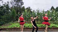 城城原創廣場舞《張燈結彩》城城指導排練舞臺隊形舞蹈 經典正背面演示及口令分解動作教學