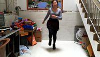 缘分的天空舞蹈《老妹你真美》基础奔跑步 附正背表演口令分解动作分解教学